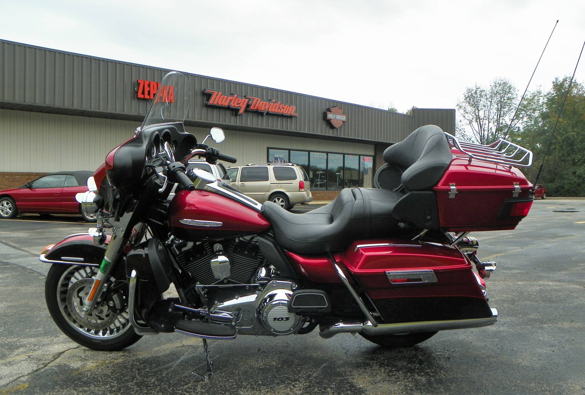 2012 Harley-Davidson Electra Glide® Ultra Limited in Johnstown, Pennsylvania