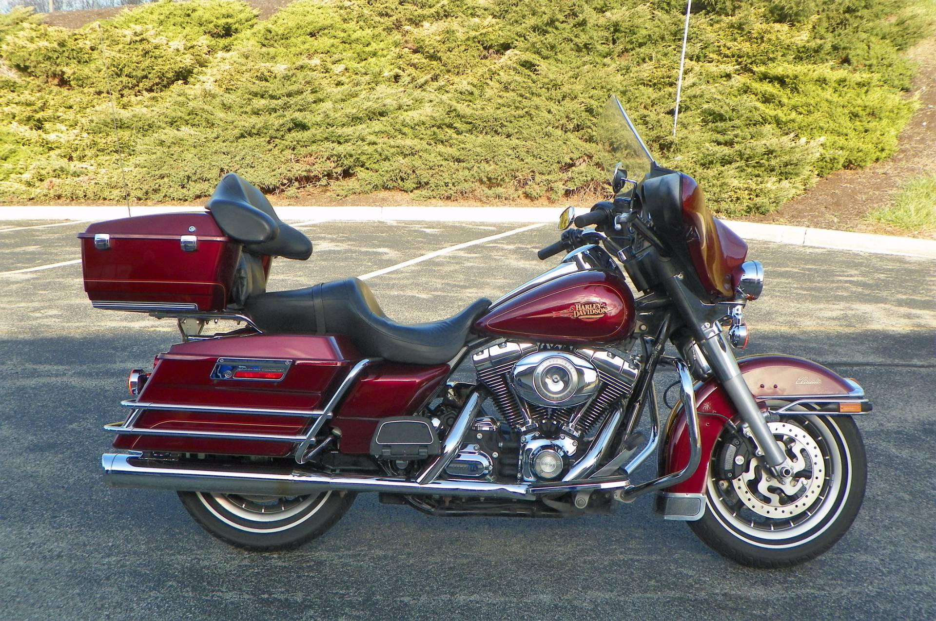 Used 2008 Harley-Davidson Electra Glide® Clic Motorcycles in ...
