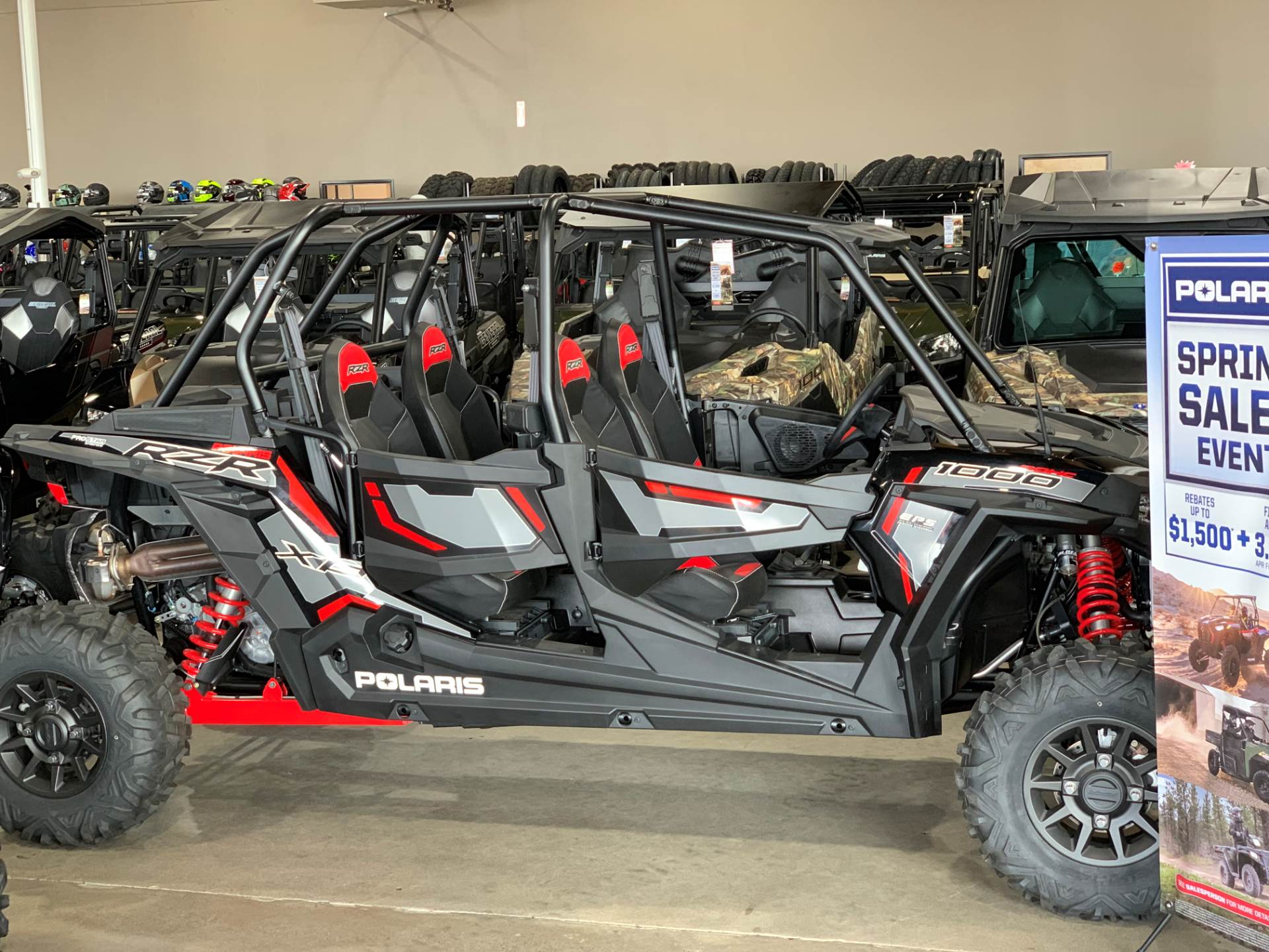 2018 Polaris RZR XP 4 1000 EPS Ride Command Edition in Albany, Oregon - Photo 1