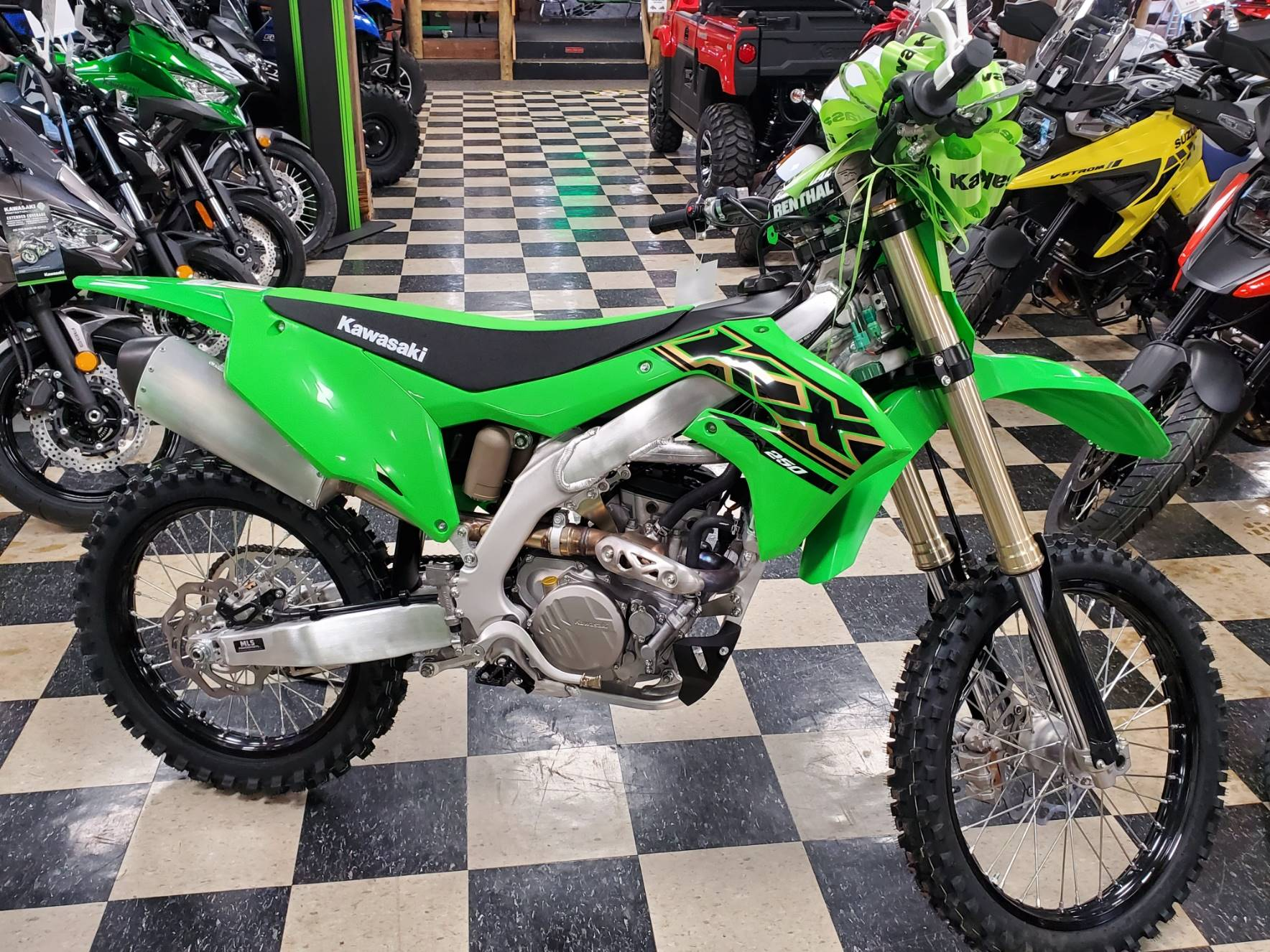 2021 Kawasaki KX 250 in Georgetown, Kentucky