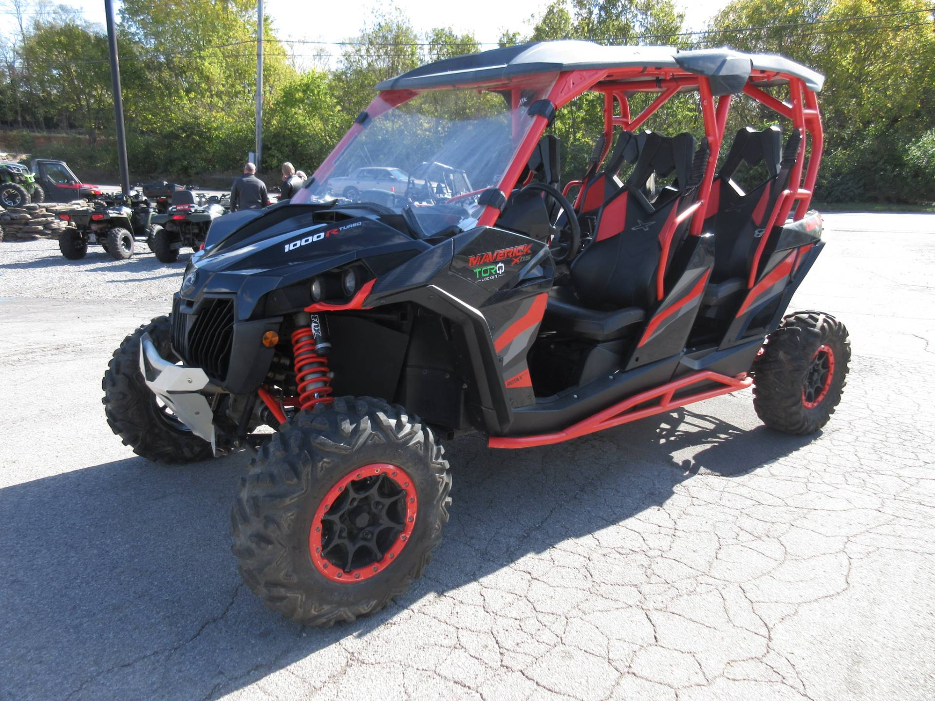 2017 Can-Am Maverick MAX X rs Turbo in Georgetown, Kentucky - Photo 4
