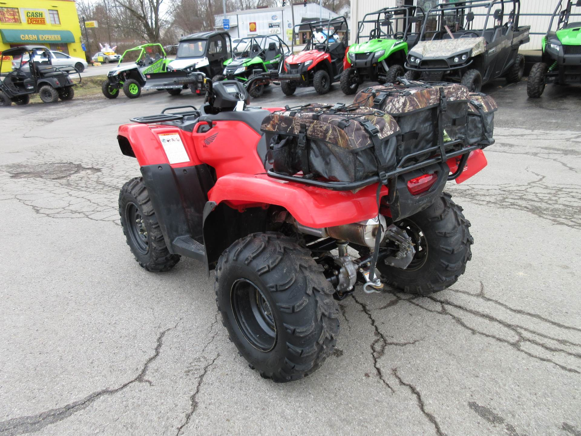 2015 honda rancher 420 4x4 electric shift w winch storage bag used honda rancher 4x4 es for. Black Bedroom Furniture Sets. Home Design Ideas