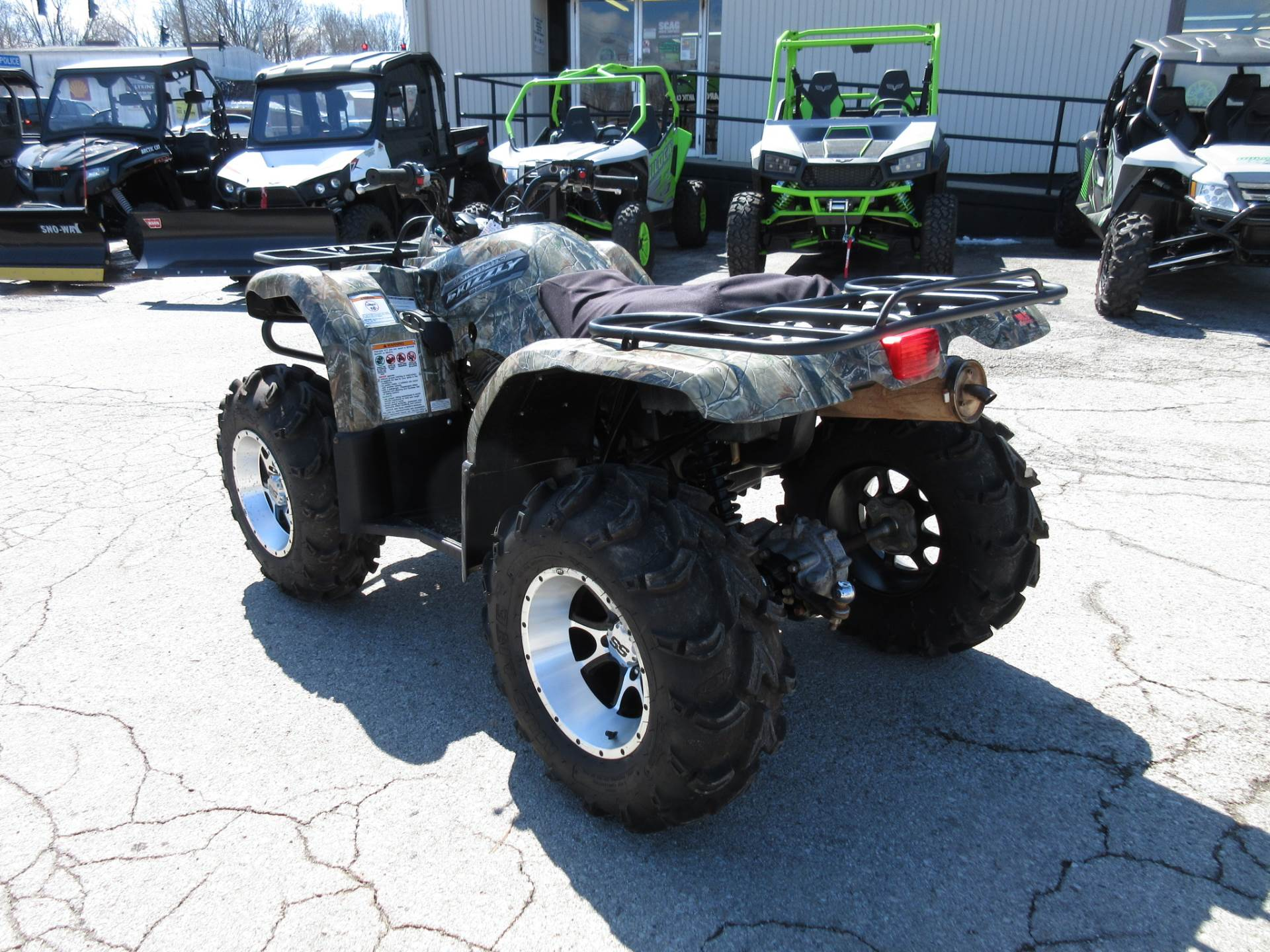2012 yamaha grizzly 350 auto 4x4 ebay for Yamaha 350 grizzly
