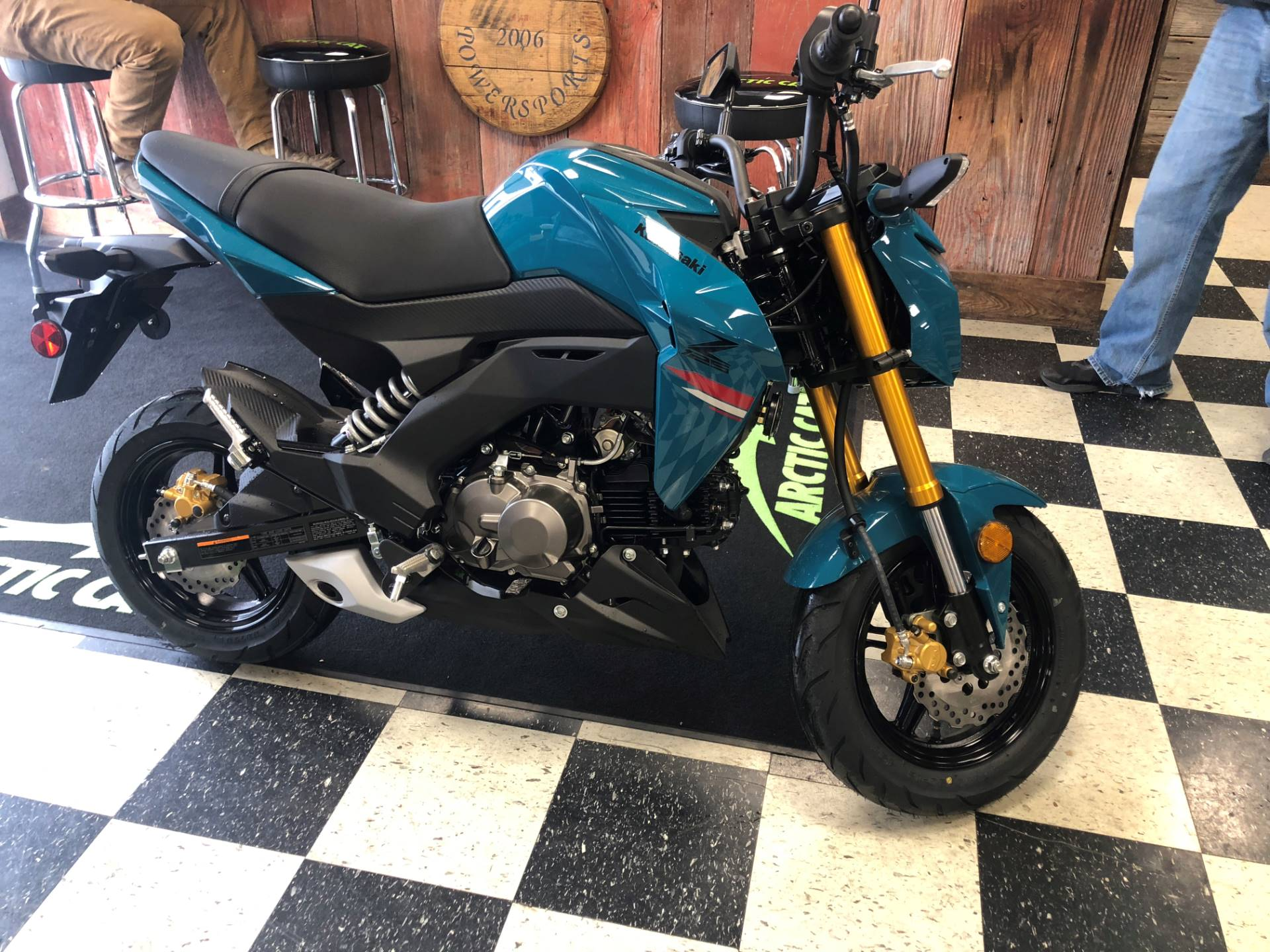 2021 Kawasaki Z125 Pro in Georgetown, Kentucky - Photo 2