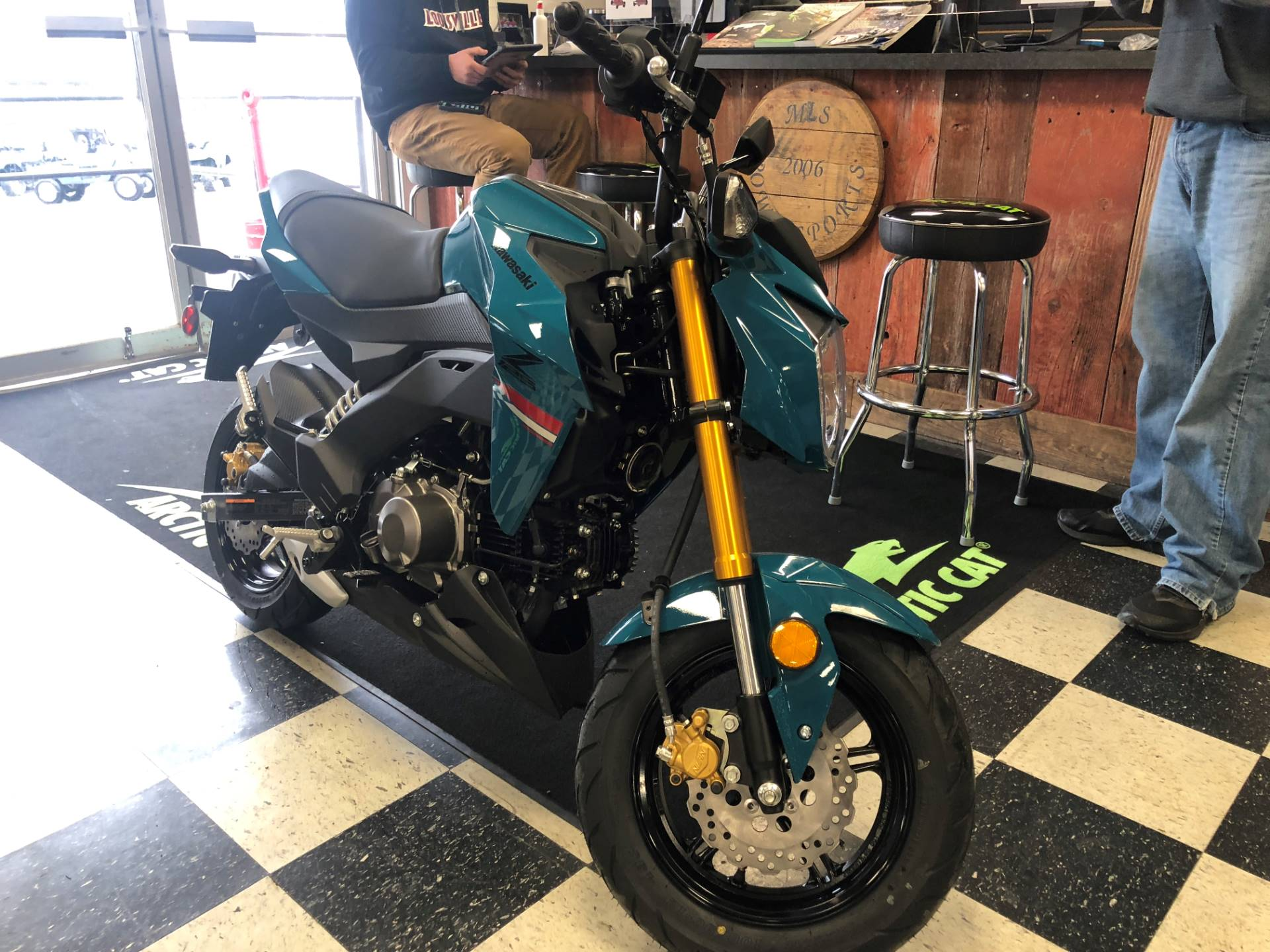 2021 Kawasaki Z125 Pro in Georgetown, Kentucky - Photo 3