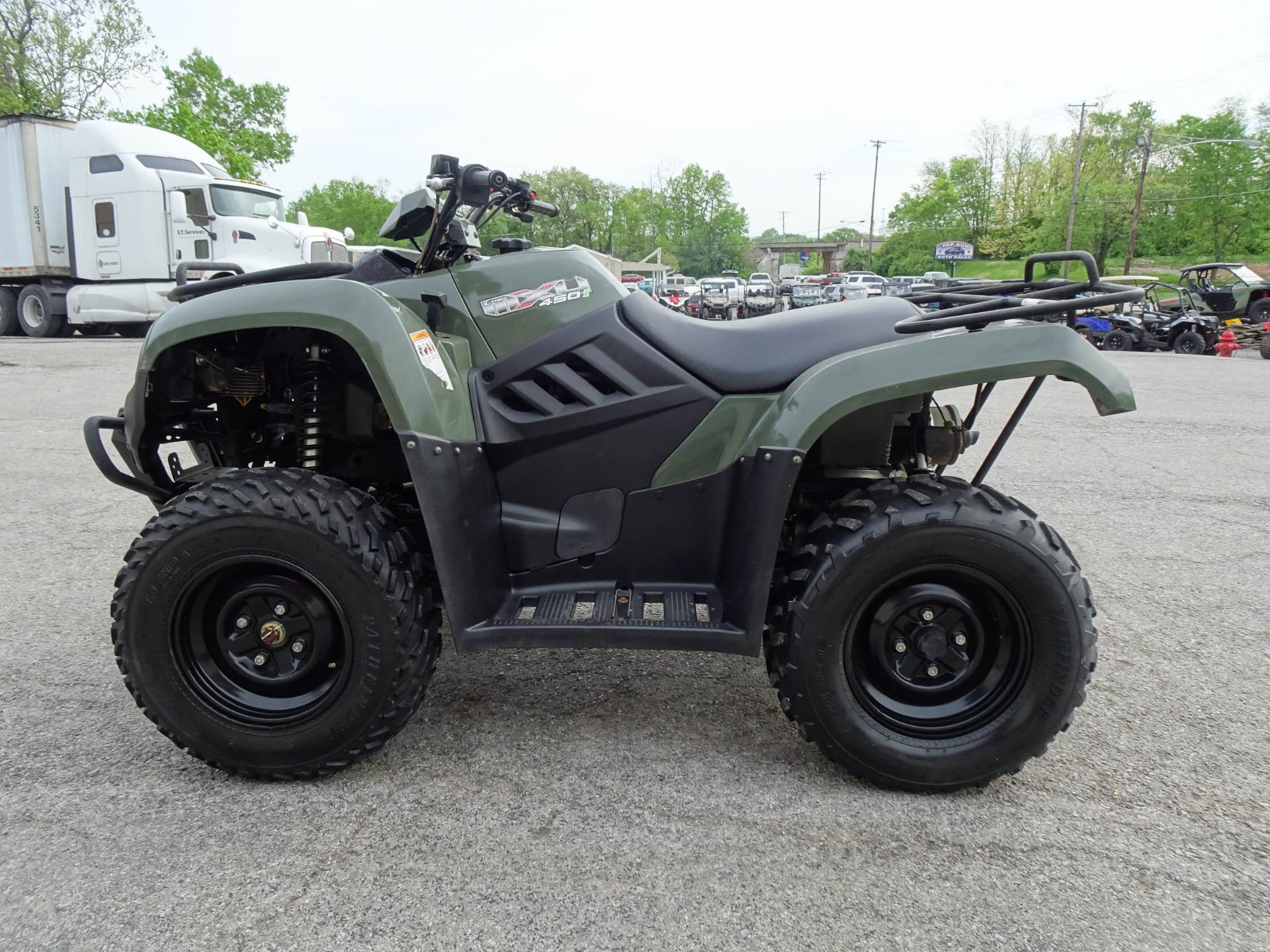 2012 Kymco MXU 450i in Georgetown, Kentucky - Photo 6