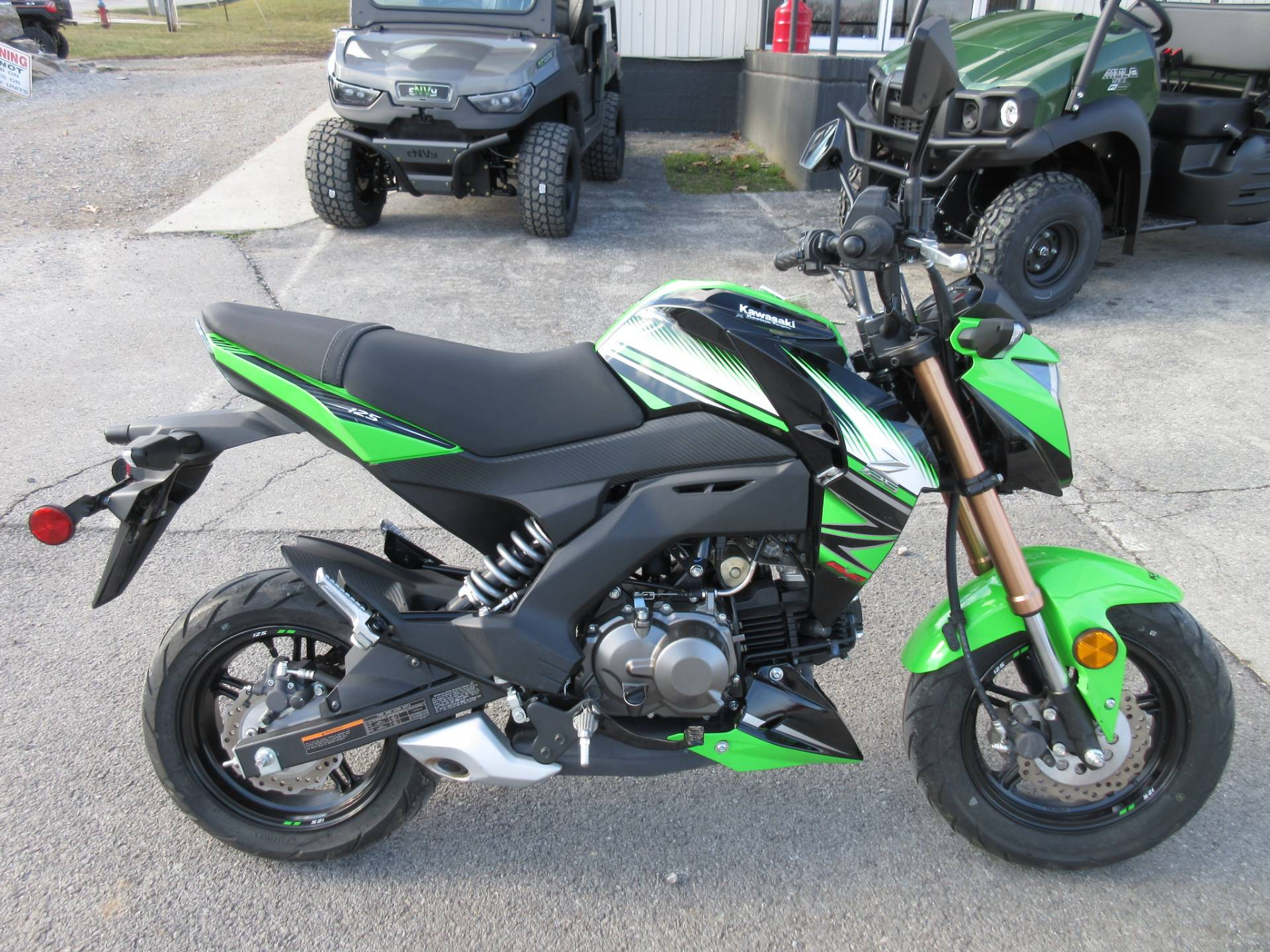 2018 Kawasaki Z125 Pro KRT Edition in Georgetown, Kentucky - Photo 2