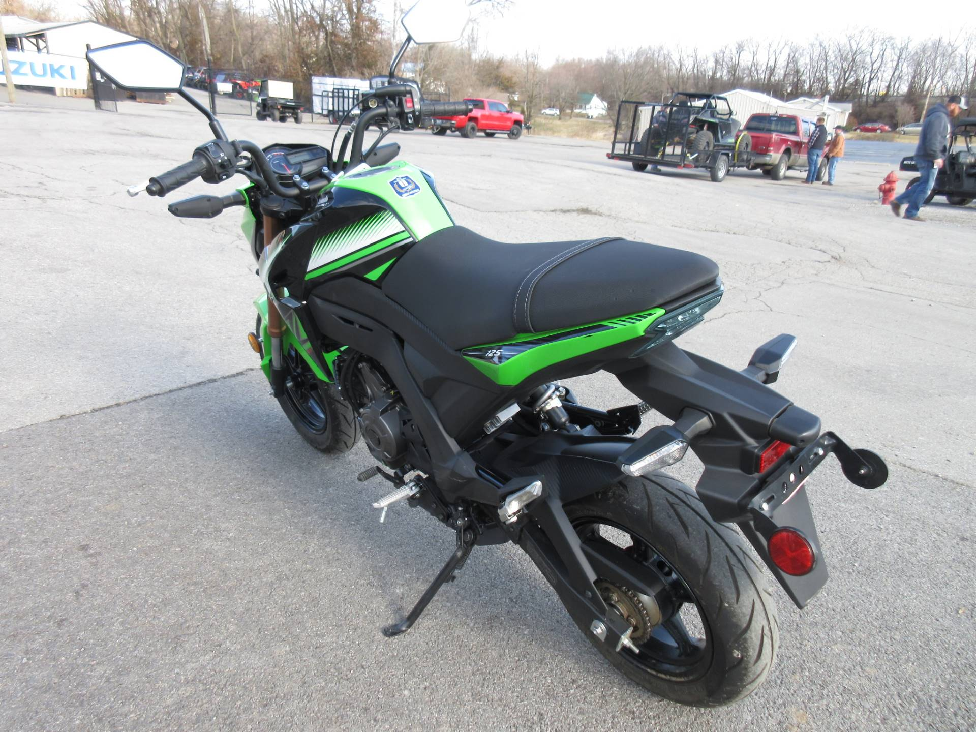 2018 Kawasaki Z125 Pro KRT Edition in Georgetown, Kentucky - Photo 5