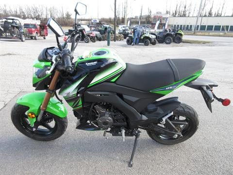 2018 Kawasaki Z125 Pro KRT Edition in Georgetown, Kentucky - Photo 6