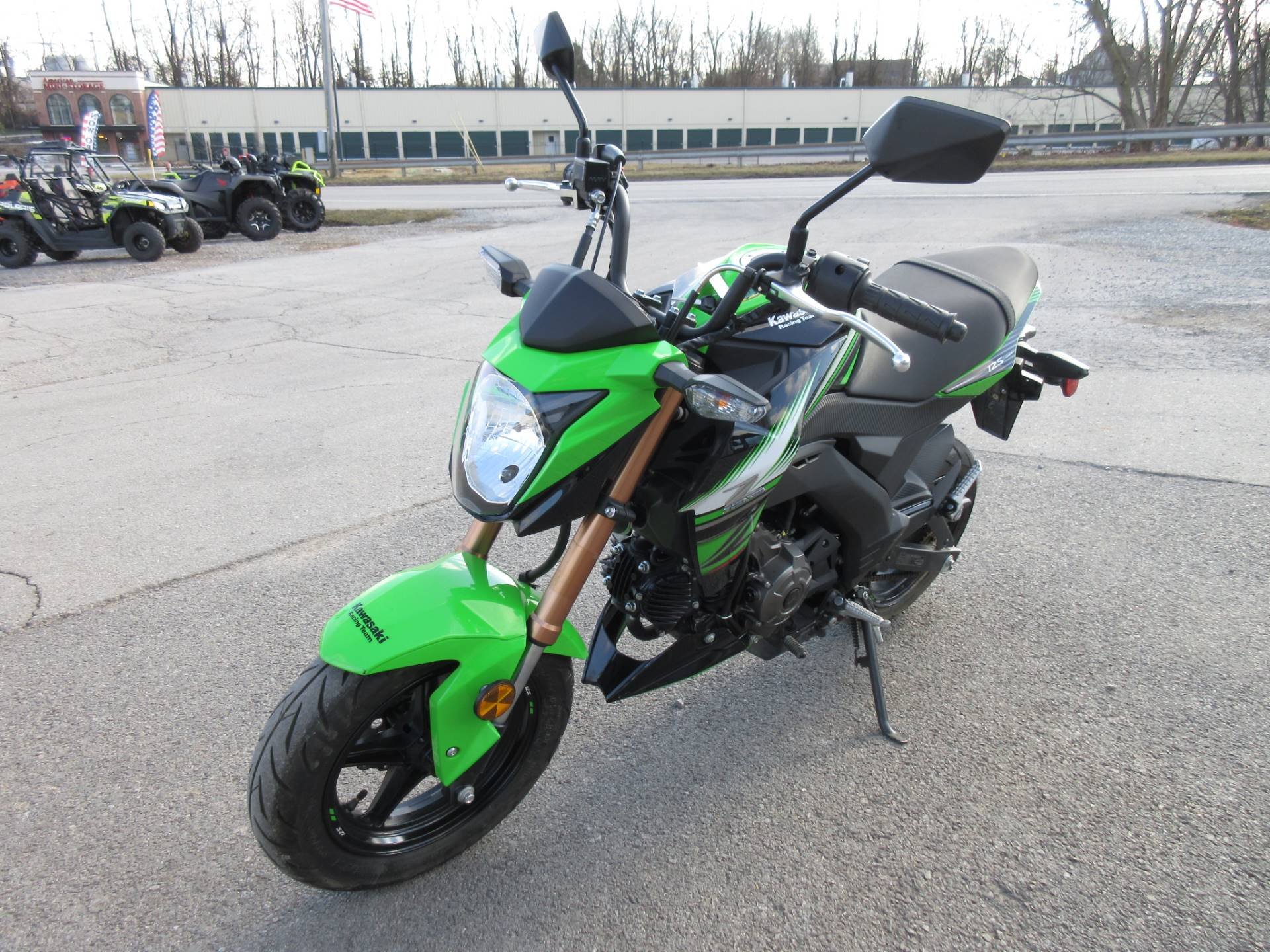 2018 Kawasaki Z125 Pro KRT Edition in Georgetown, Kentucky - Photo 7