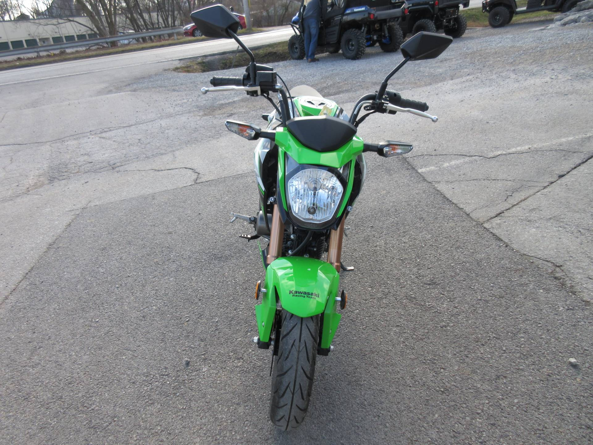 2018 Kawasaki Z125 Pro KRT Edition in Georgetown, Kentucky - Photo 8