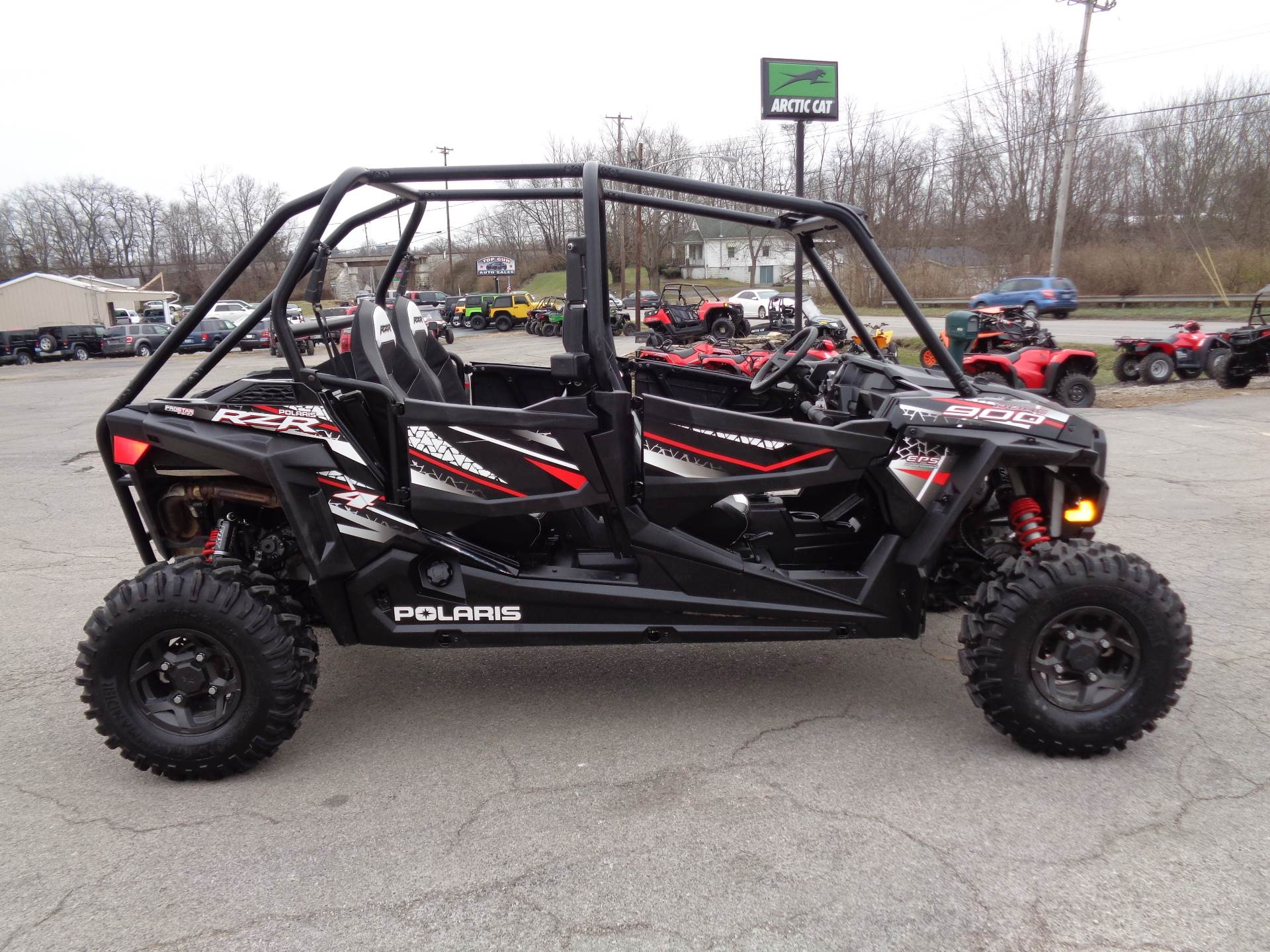 2017 polaris rzr 4 900 eps efi 4x4 auto w 124 miles used polaris rzr 4 900 eps for sale in. Black Bedroom Furniture Sets. Home Design Ideas