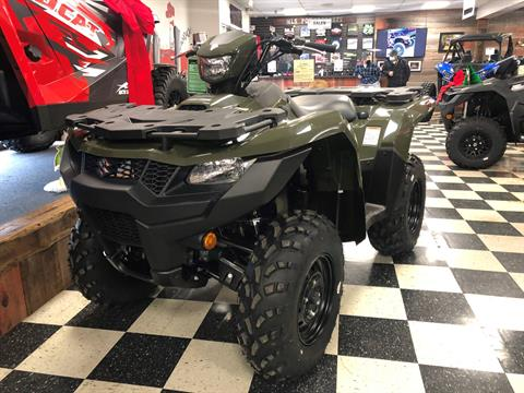 2021 Suzuki KingQuad 500AXi Power Steering in Georgetown, Kentucky - Photo 1