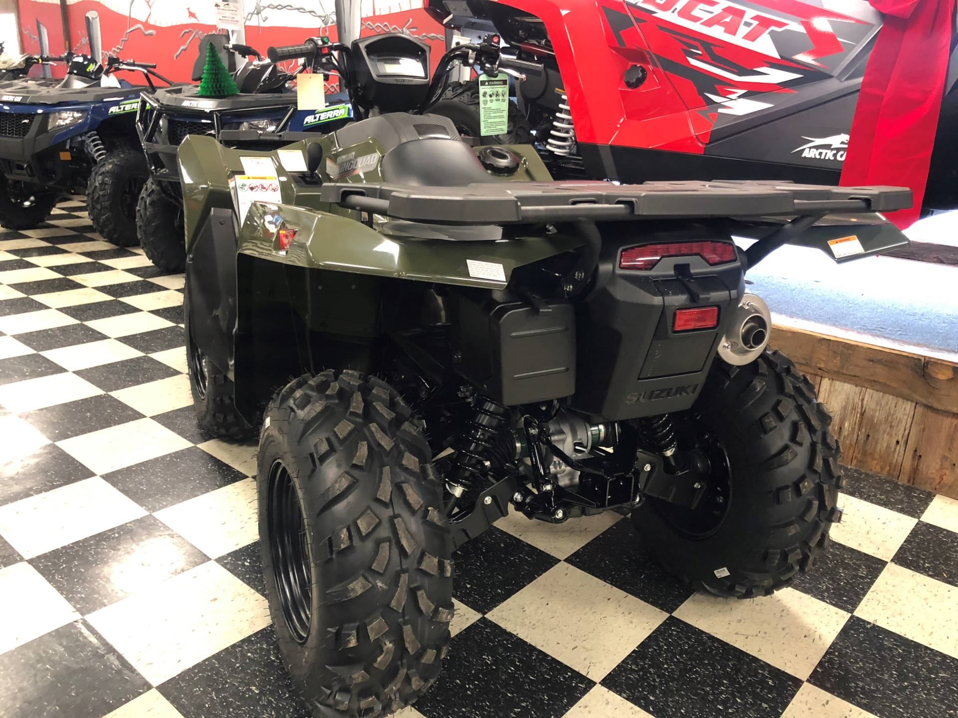 2021 Suzuki KingQuad 500AXi Power Steering in Georgetown, Kentucky - Photo 2