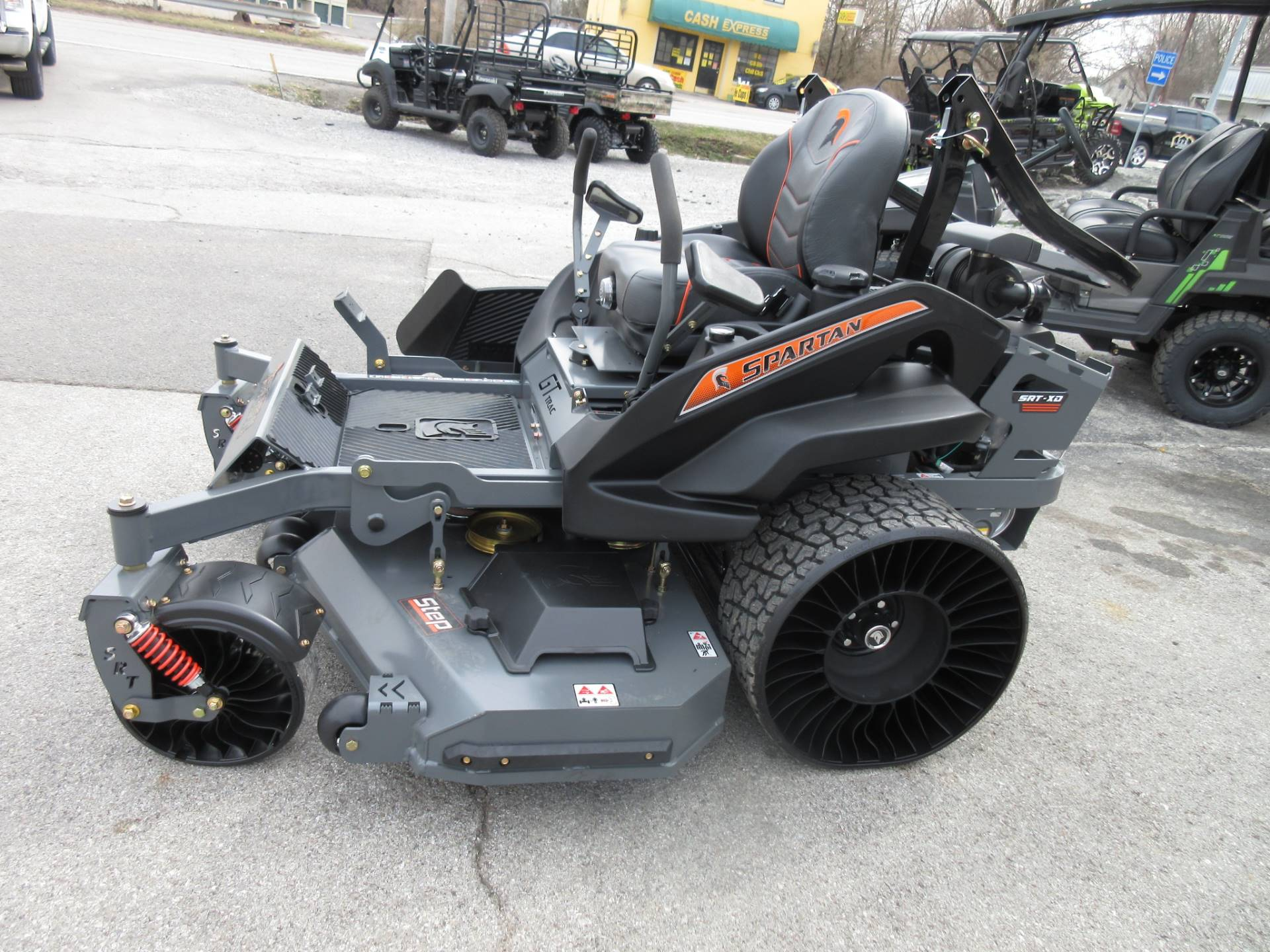 2021 Spartan Mowers SRT XD 61 in. Kawasaki FX1000E 38.5 hp in Georgetown, Kentucky