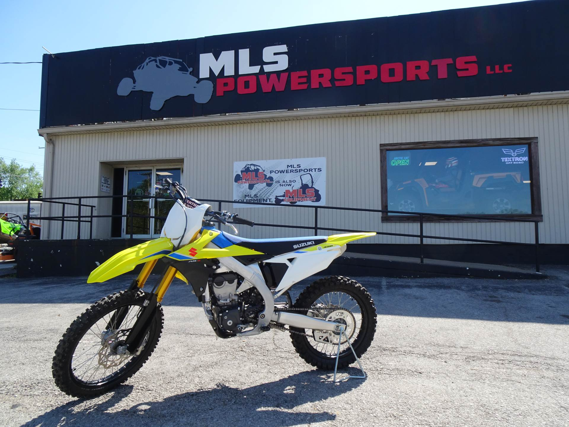 2018 Suzuki RM-Z450 in Georgetown, Kentucky - Photo 1