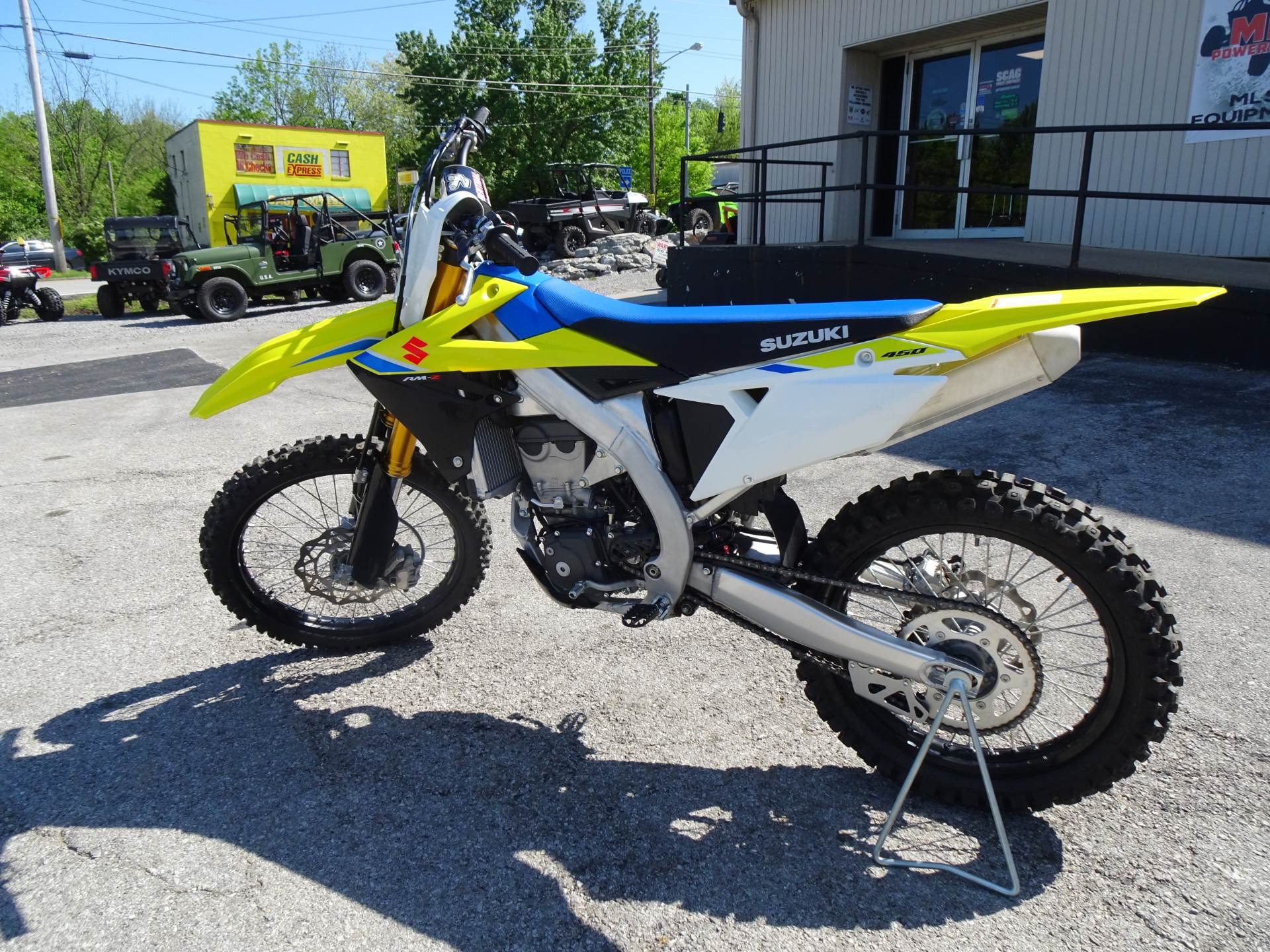 2018 Suzuki RM-Z450 in Georgetown, Kentucky - Photo 2