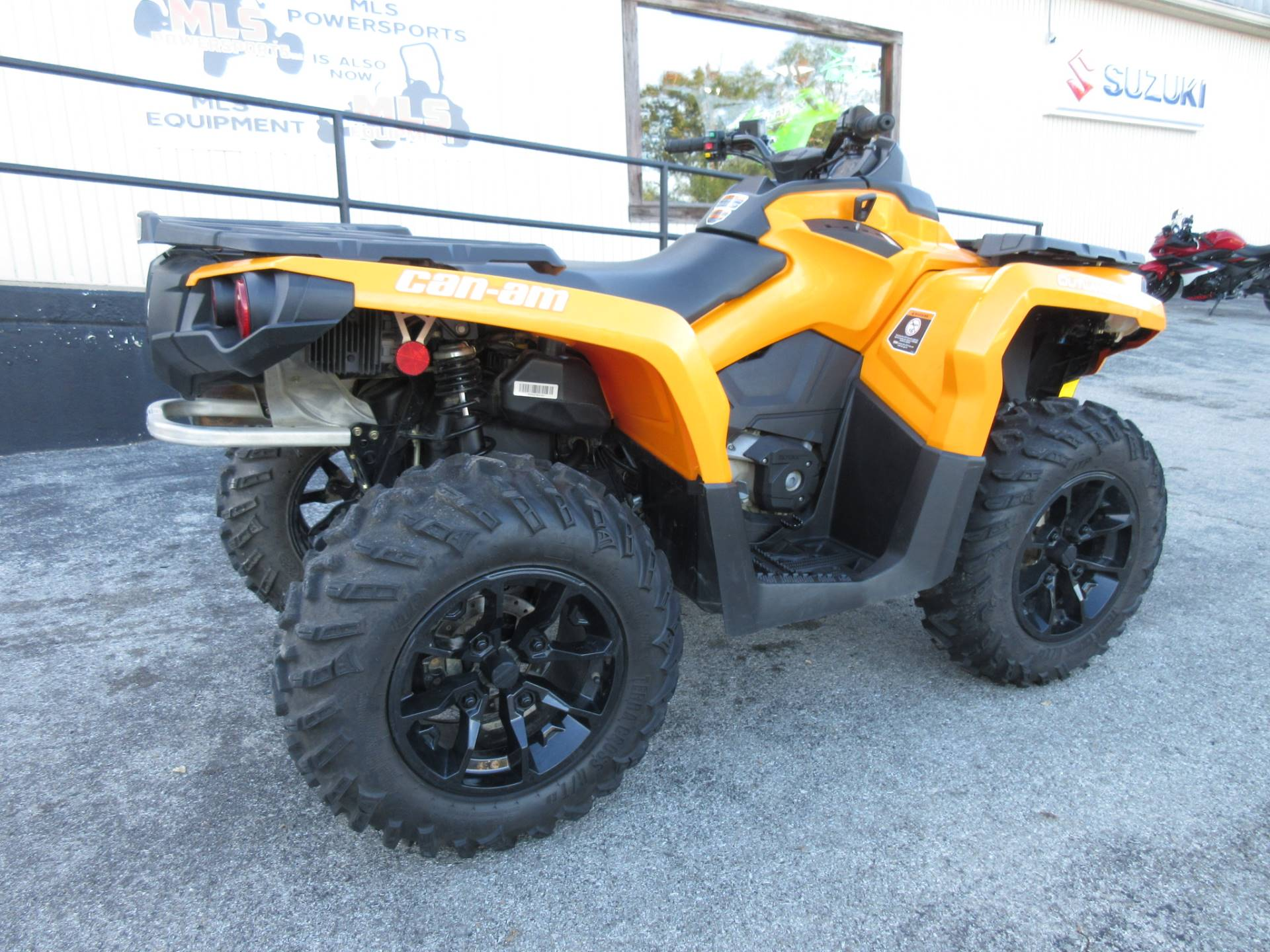 2018 Can-Am Outlander DPS 650 in Georgetown, Kentucky - Photo 3