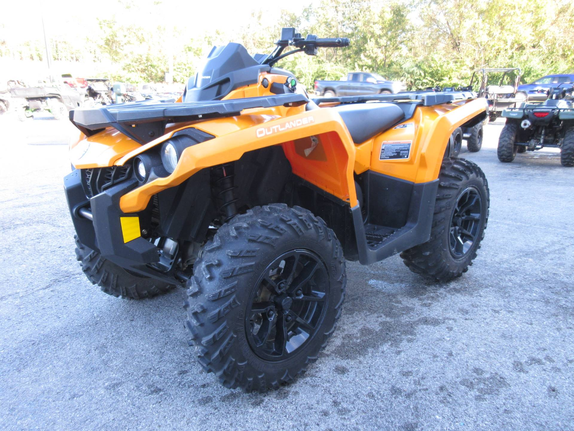 2018 Can-Am Outlander DPS 650 in Georgetown, Kentucky - Photo 8