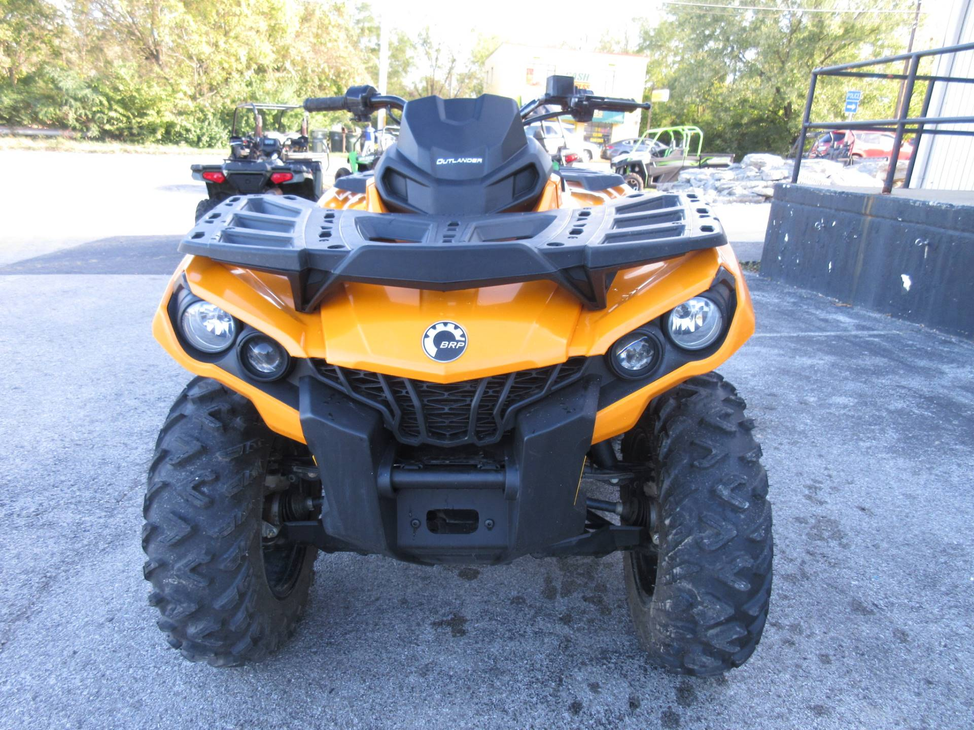 2018 Can-Am Outlander DPS 650 in Georgetown, Kentucky - Photo 9