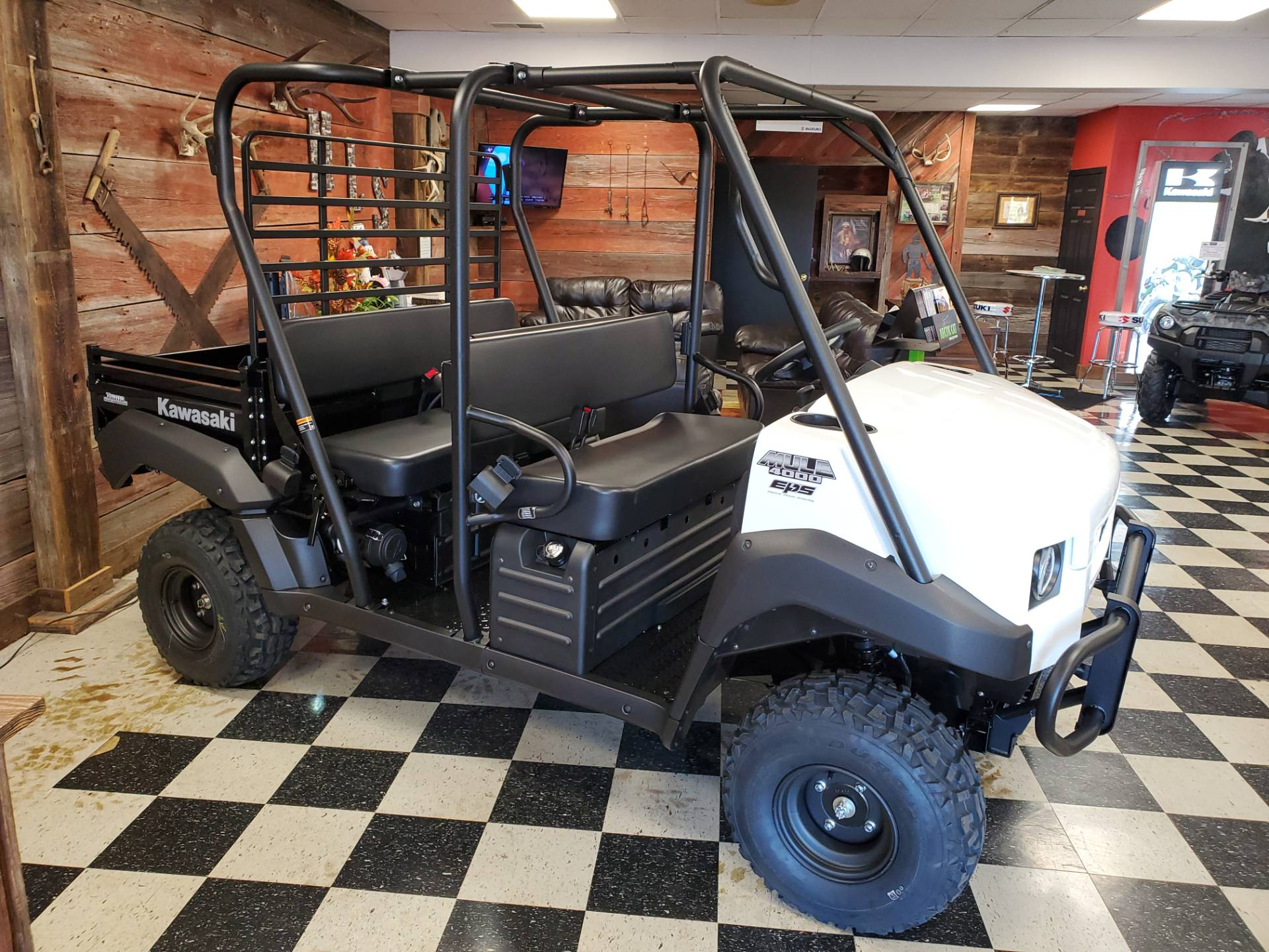 2021 Kawasaki Mule 4000 Trans in Georgetown, Kentucky - Photo 1