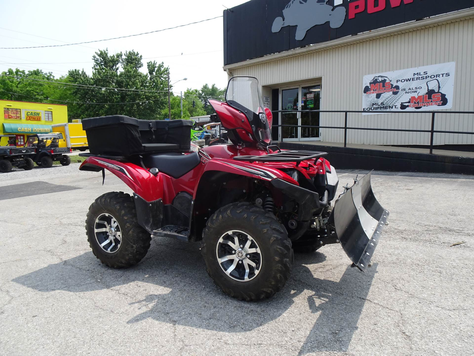 2016 Yamaha Grizzly EPS LE in Georgetown, Kentucky - Photo 1