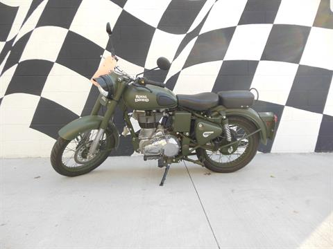 2015 Royal Enfield Classic Battle Green in Tulsa, Oklahoma