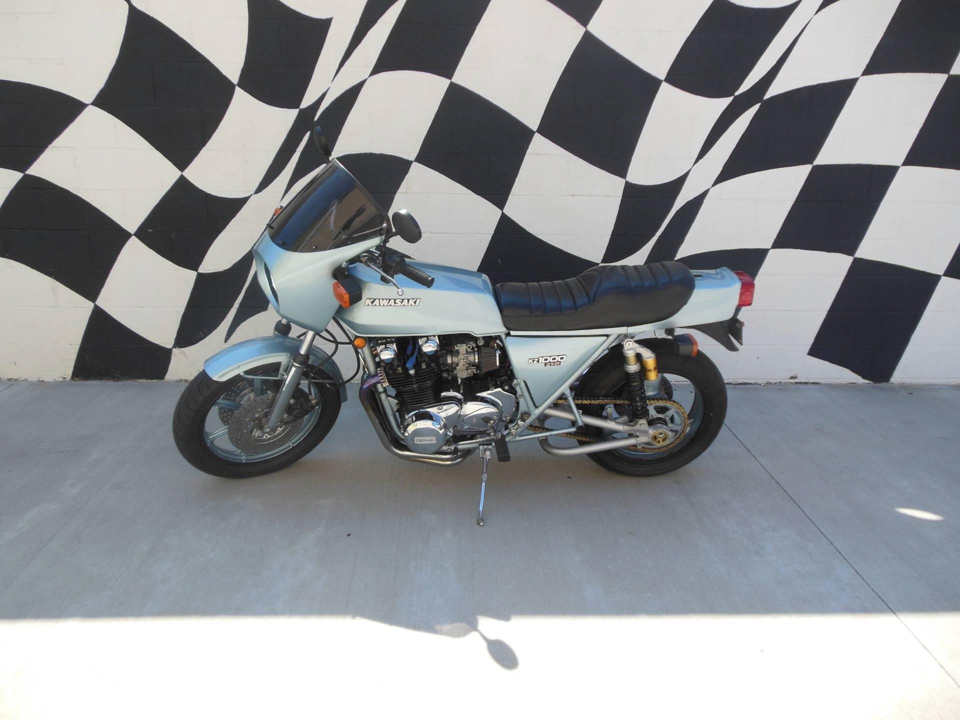 1978 Kawasaki KZ 1000 ZR-1 for sale 50211