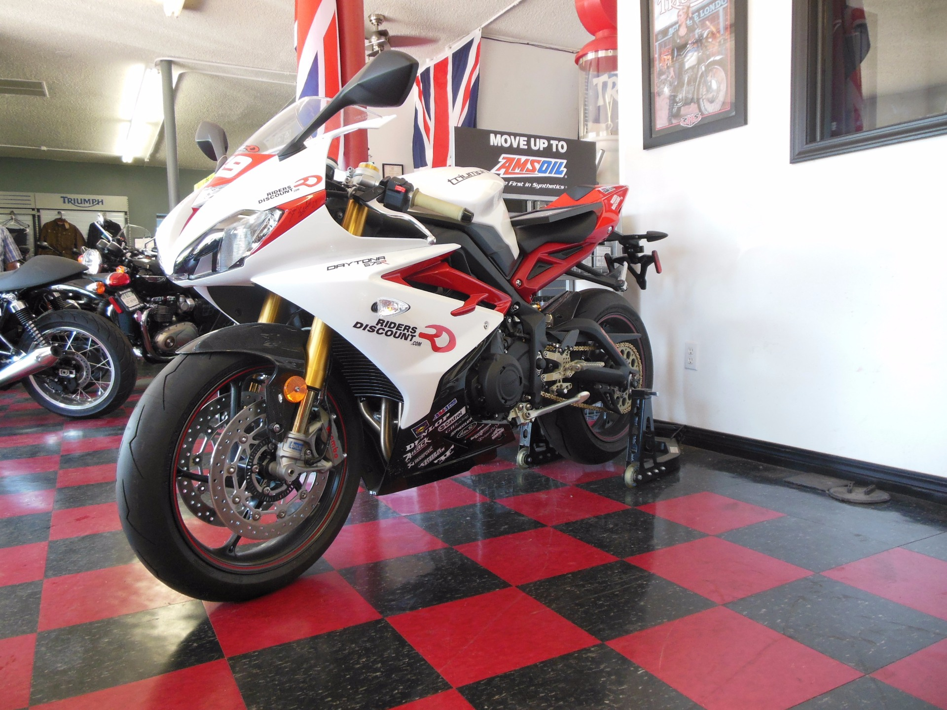 2014 Triumph Daytona 675R Danny Eslick Edition for sale 9538
