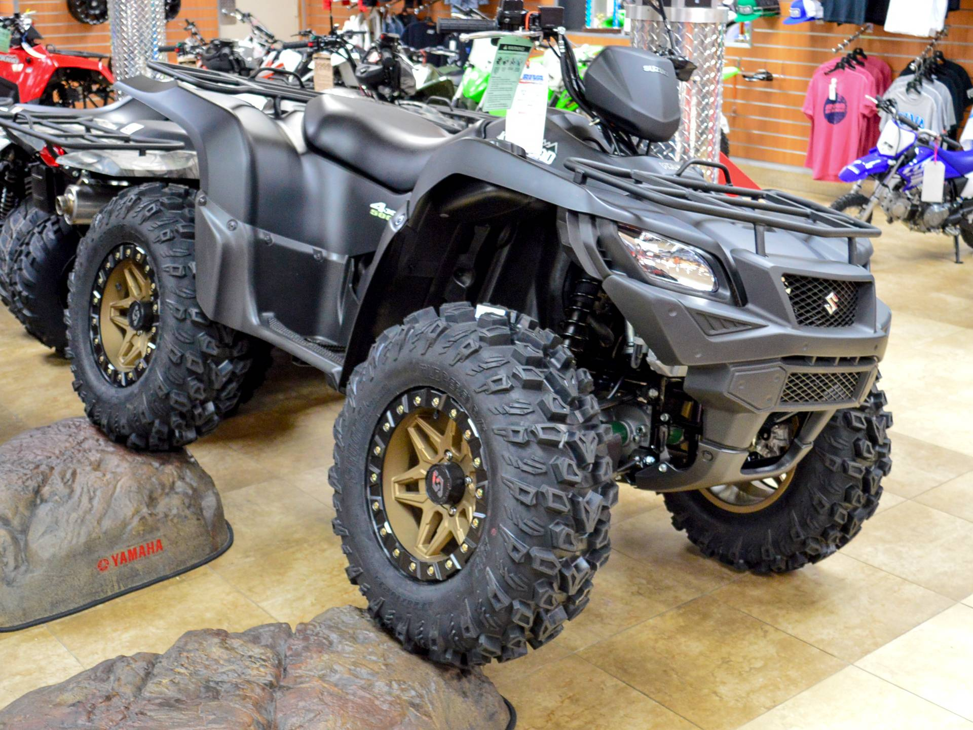 2018 Suzuki KingQuad 500AXi Power Steering Special Edition in Pompano Beach, Florida