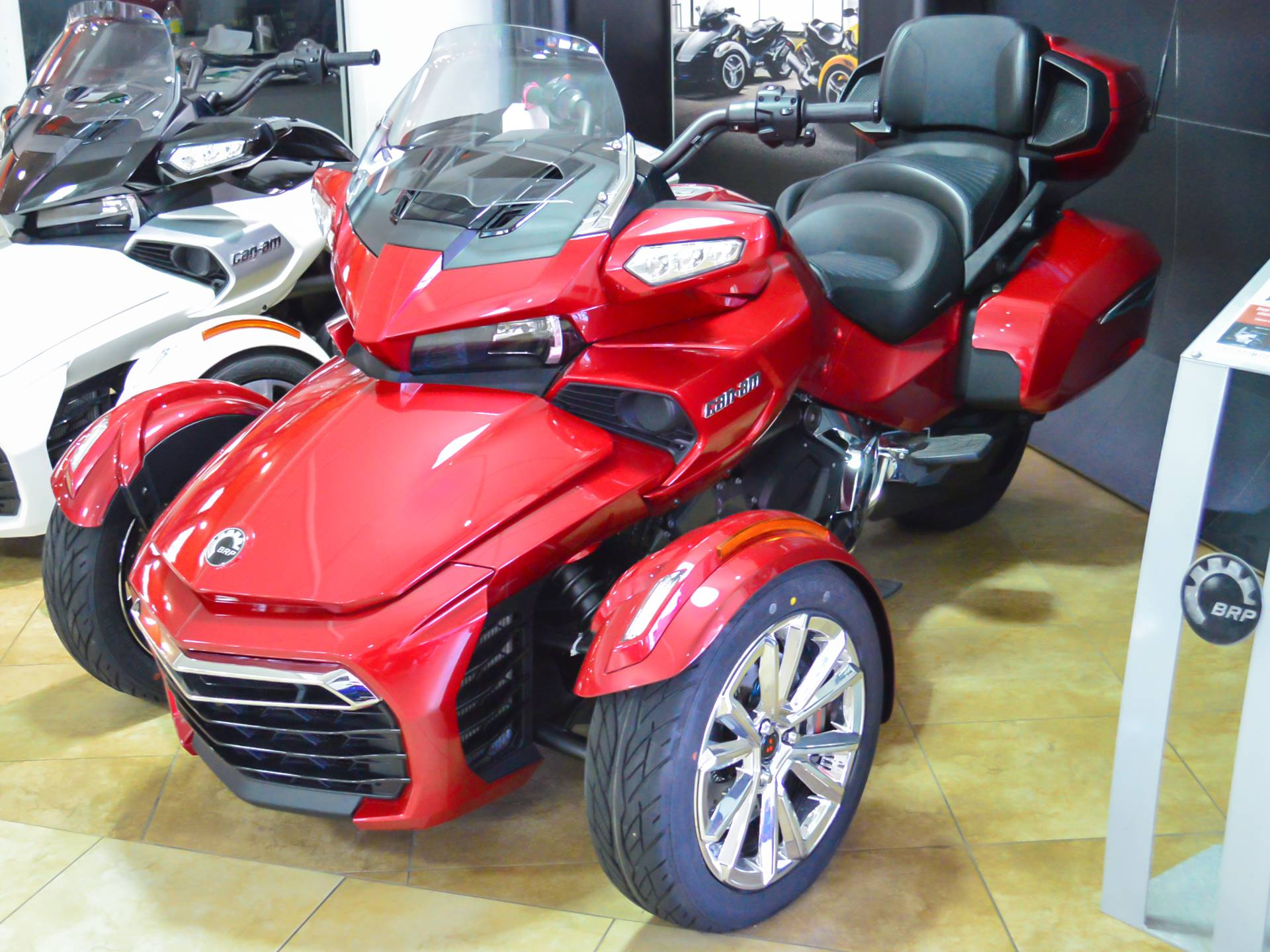 CanAm Spyder F Limited Motorcycles Pompano Beach Florida - Pompano car show