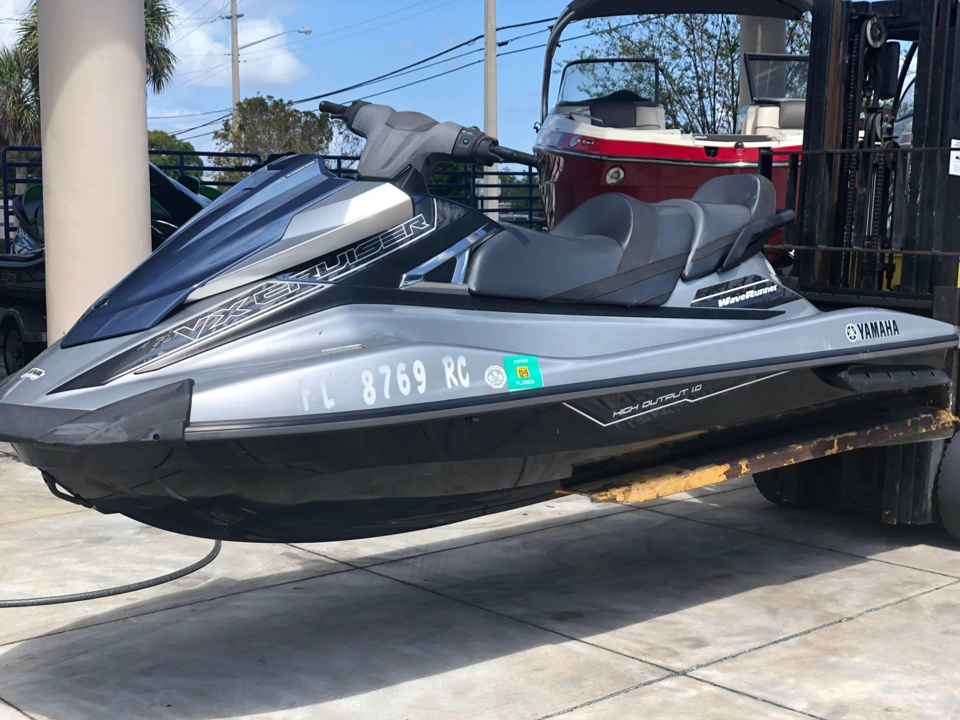 2016 Yamaha Vx Cruiser In Pompano Beach Florida