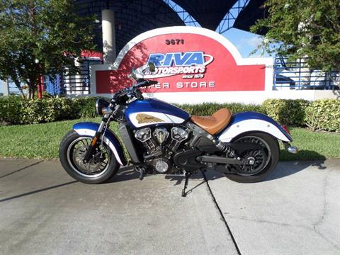 2017 Indian Scout® ABS Icon Series in Pompano Beach, Florida