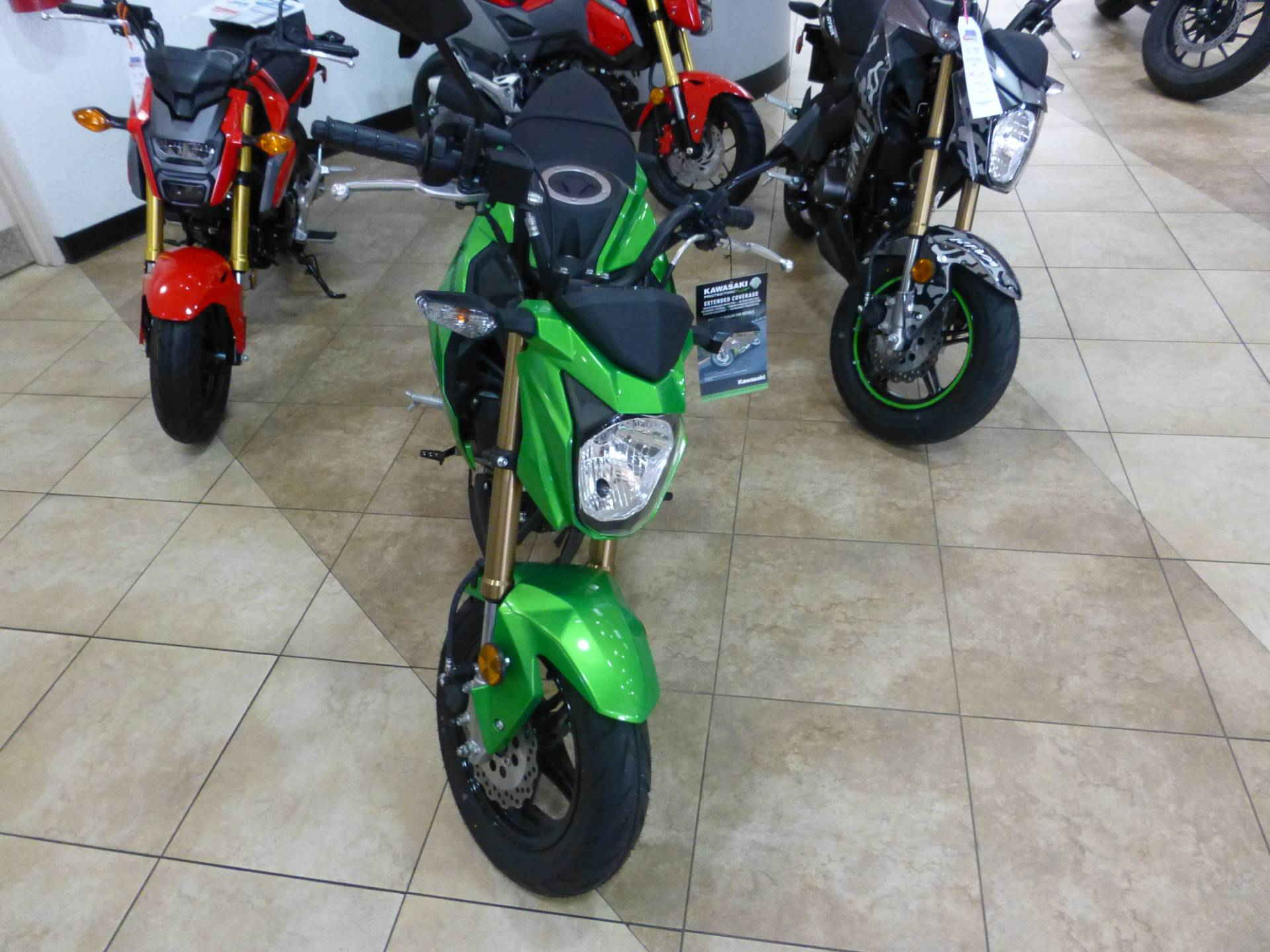 2017 Kawasaki Z125 Pro in Pompano Beach, Florida