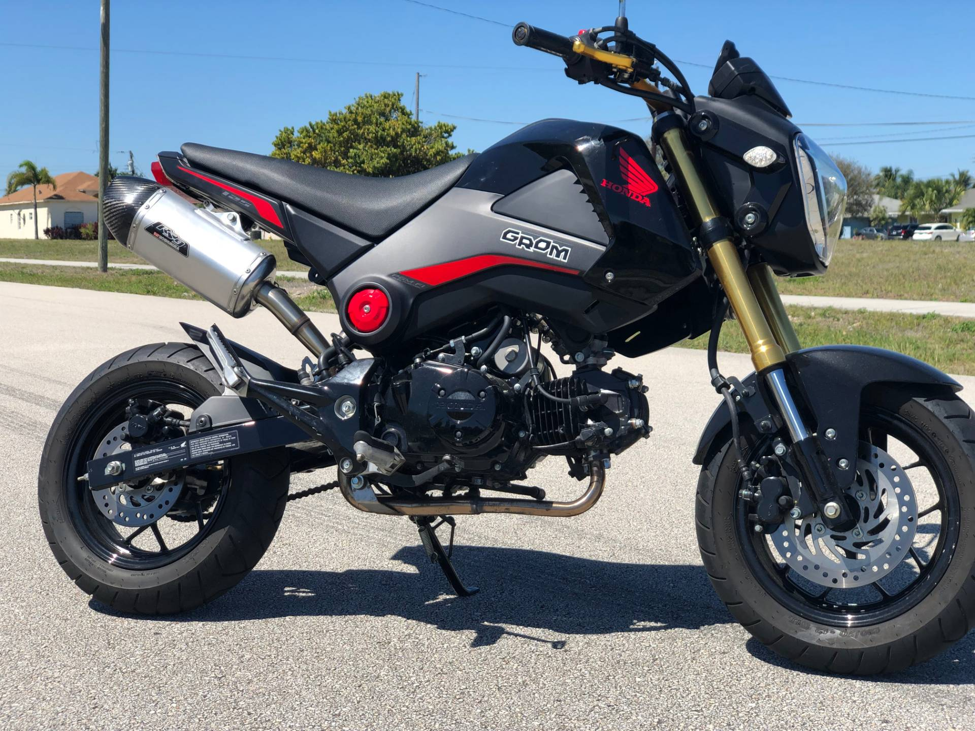 2015 Honda Grom Motorcycles Pompano Beach Florida