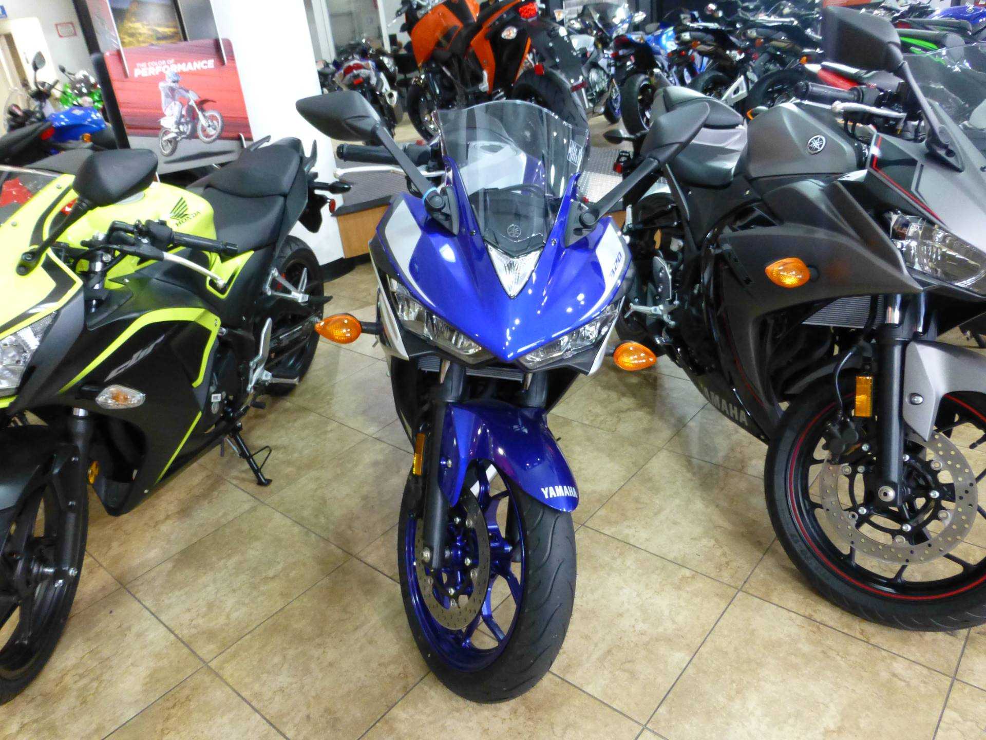 2016 Yamaha YZF-R3 in Pompano Beach, Florida