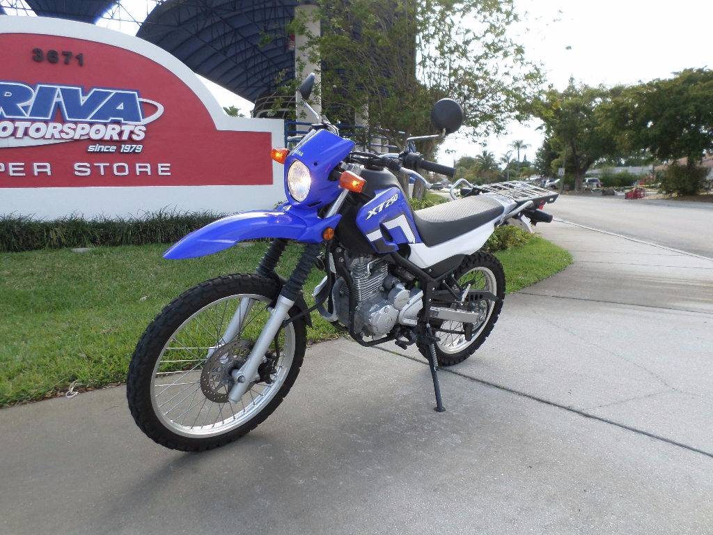 2015 Yamaha XT250 in Pompano Beach, Florida