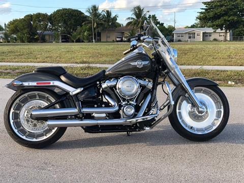 2018 Harley-Davidson Fat Boy®107 in Pompano Beach, Florida