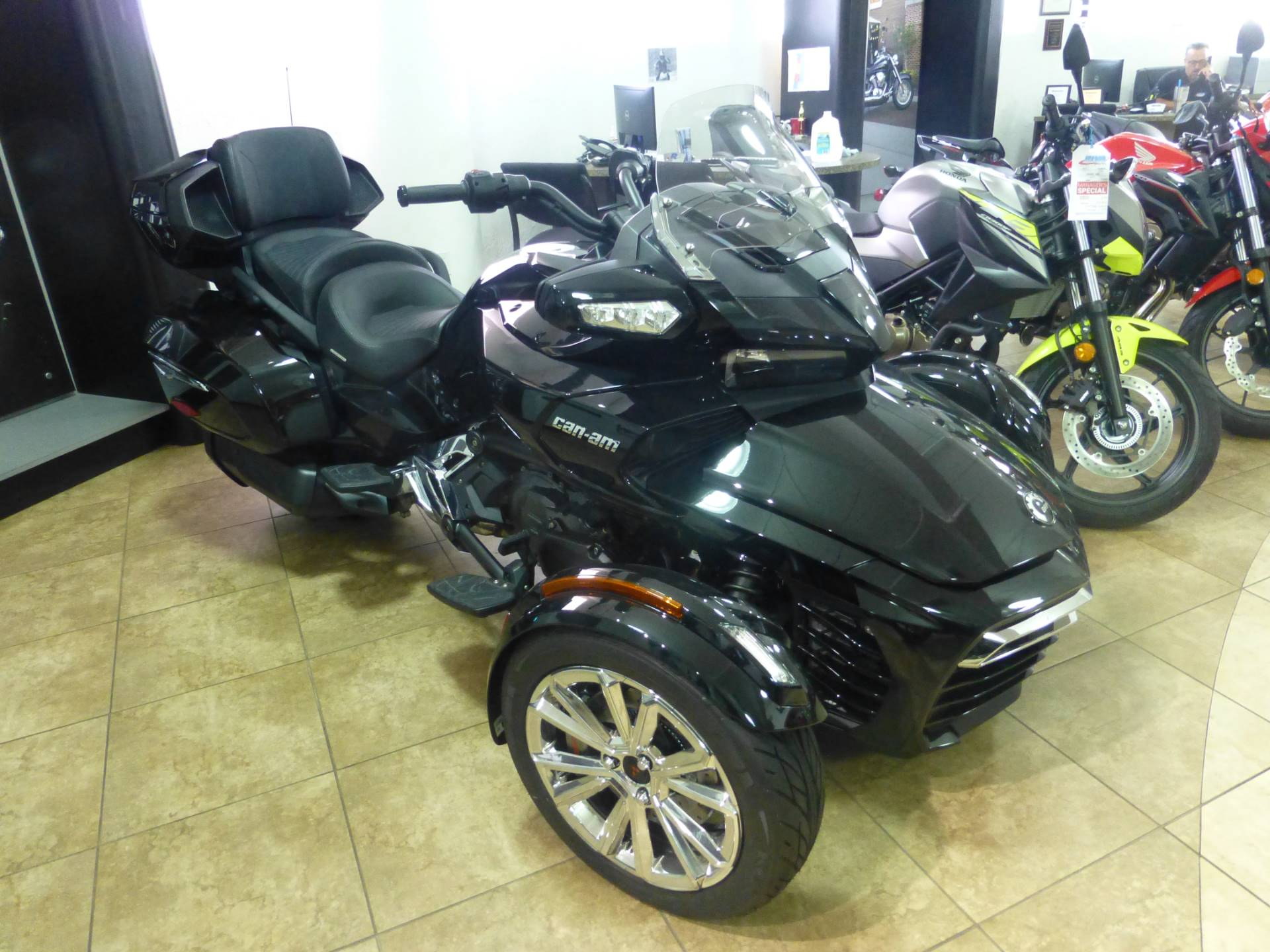 2017 Can-Am Spyder F3 Limited in Pompano Beach, Florida
