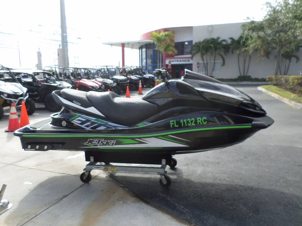 2016 Kawasaki Jet Ski Ultra 310r Watercraft Pompano Beach Florida Fuel Filter In