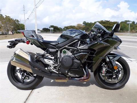 2016 Kawasaki Ninja H2 in Pompano Beach, Florida