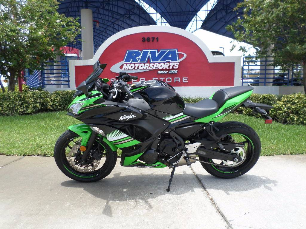 2017 Kawasaki Ninja 650 ABS KRT Edition in Pompano Beach, Florida