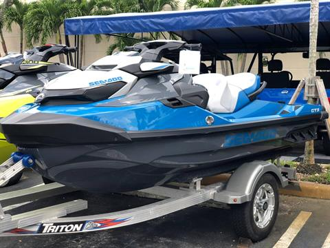 2018 Sea-Doo GTX 155 iBR Incl. Sound System in Pompano Beach, Florida