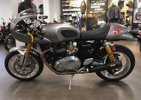 2016 Triumph Thruxton 1200 R in Mahwah, New Jersey