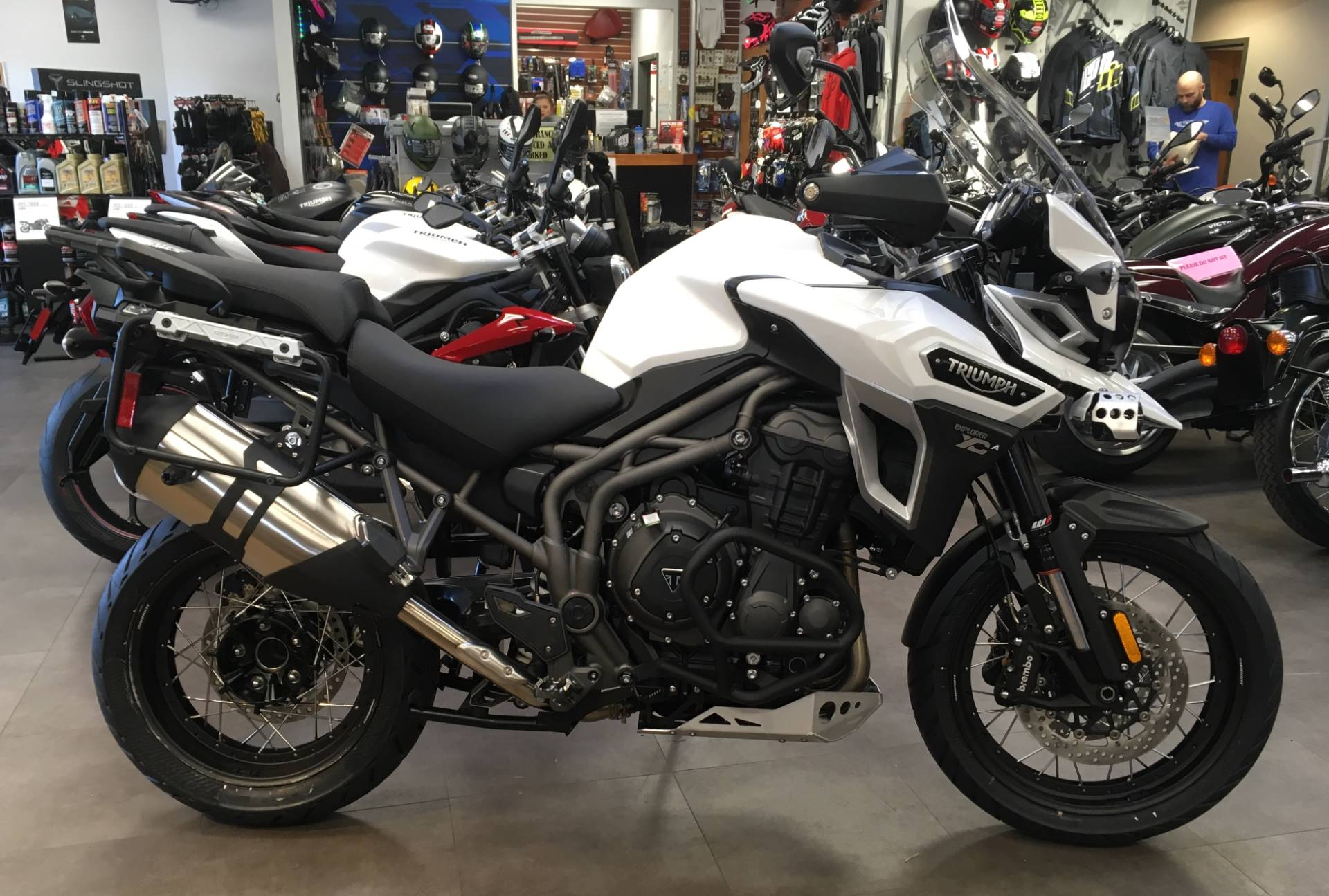 2017 Triumph Tiger Explorer XCA in Mahwah, New Jersey