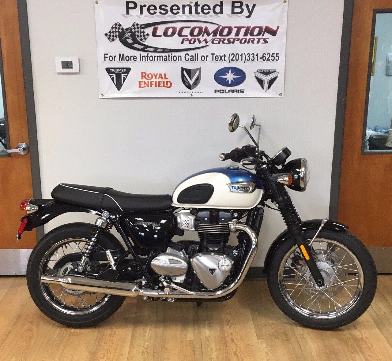 2019 Triumph Bonneville T100 Motorcycles Mahwah New Jersey