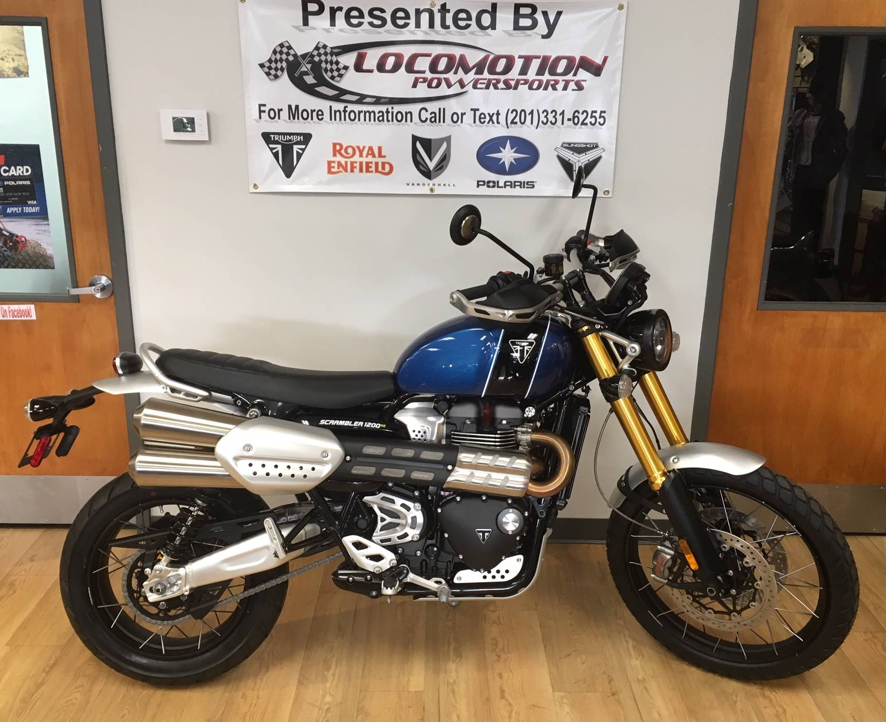2019 Triumph Scrambler 1200 XE in Mahwah, New Jersey - Photo 1