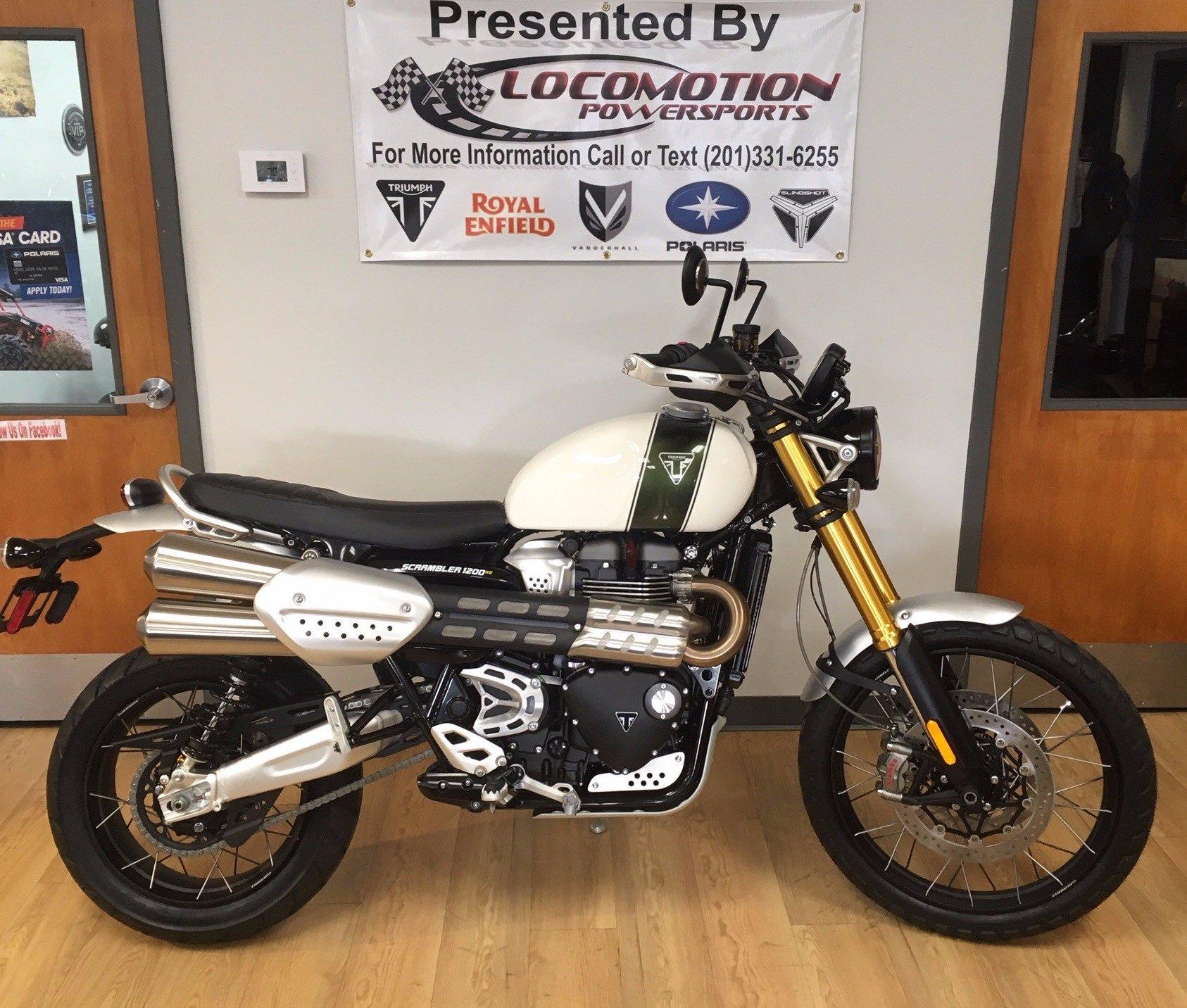 2019 Triumph Scrambler 1200 Xe Showcase Motorcycles Mahwah New Jersey