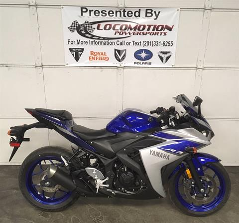 2015 Yamaha YZF-R3 in Mahwah, New Jersey