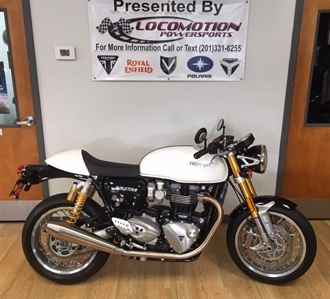 2019 Triumph Thruxton 1200 R in Mahwah, New Jersey - Photo 1
